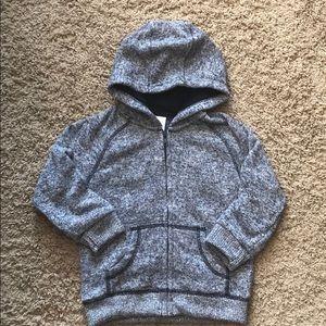Gymboree zip up hooded sweater